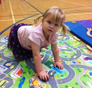 Cha-Cha at Play Time.